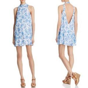 Show Me Your MuMu l V-Right Back Floral Mini Dress
